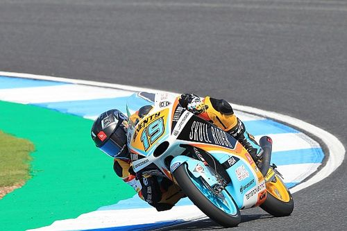 Moto3 Jepang: Rodrigo rebut pole, Sasaki kecelakaan