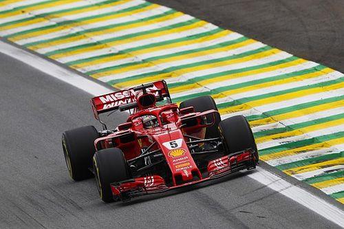 Vettel fue el más rápido antes de la clasificación en Brasil