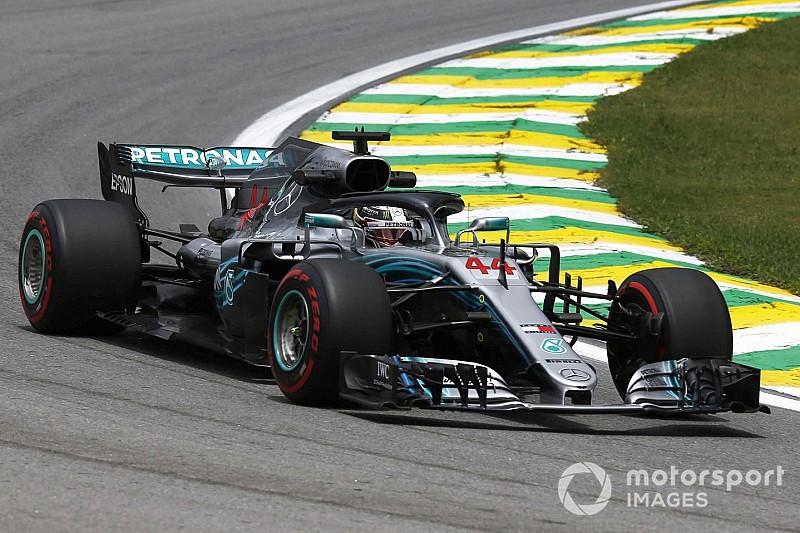 """Hamilton tem cautela em Interlagos: """"Ainda temos problemas"""""""