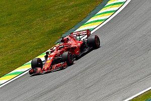 """Vettel over grappig radiobericht: """"Bleek schroefje los te zitten"""""""
