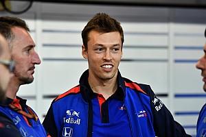 Квят побывал на базе Toro Rosso