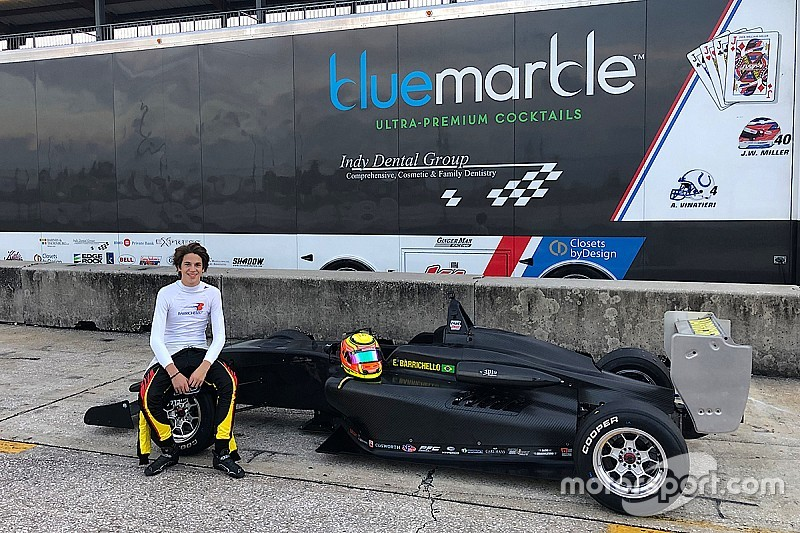 Сын Баррикелло выступит в новом сезоне американской Формулы 2000