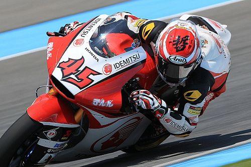 Moto2日本FP1|シュロッター首位。長島4番手! マルケス激しく転倒