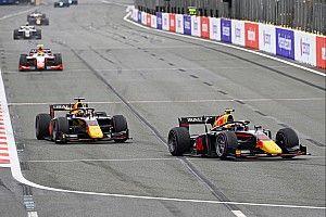Vips en Lawson testen namens Red Bull-teams in Abu Dhabi