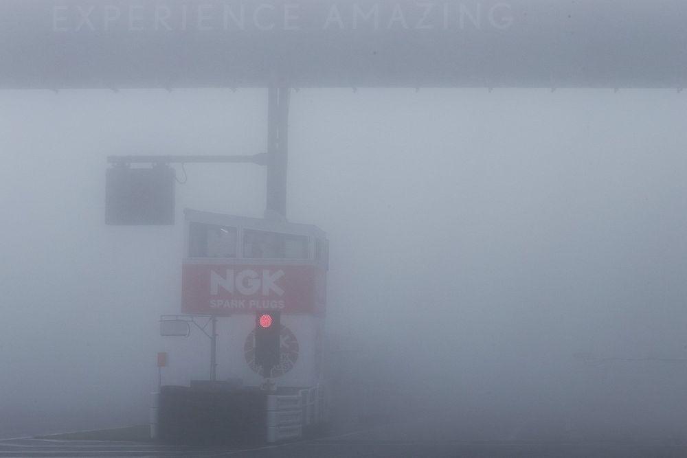 スーパーフォーミュラ第3戦オートポリス:決勝日朝は濃霧に……フリー走行は天候不良でキャンセル