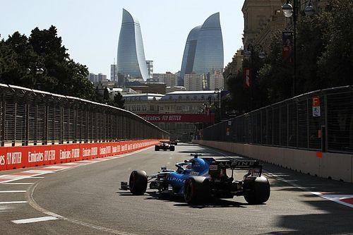 Alonso es cauto pese a su buen viernes en Bakú