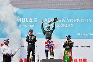 New York E-Prix: Bird dominates Sunday race to take FE points lead