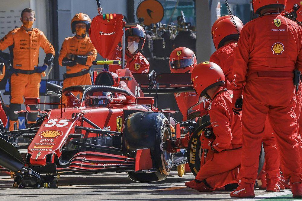 """Sainz: """"Ferrari bugün çok hızlıydı"""""""