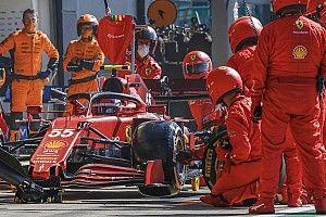 """Sainz: """"Peccato per il pit, ma la Ferrari oggi era velocissima"""""""
