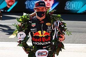 Verstappen gana la primera carrera sprint de F1 en mal día para Pérez