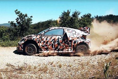 Toyota teste sa WRC hybride pour 2022