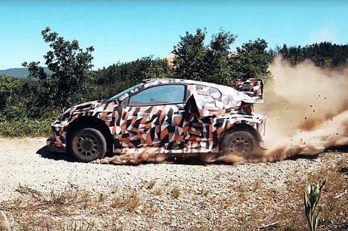 Toyota probó en Portugal su híbrido Rally1 para 2022