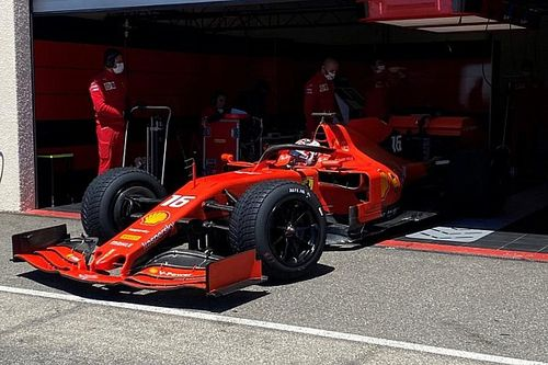 Leclerc, Pirelli'nin 18 inç yağmur lastikleriyle 141 tur tamamladı