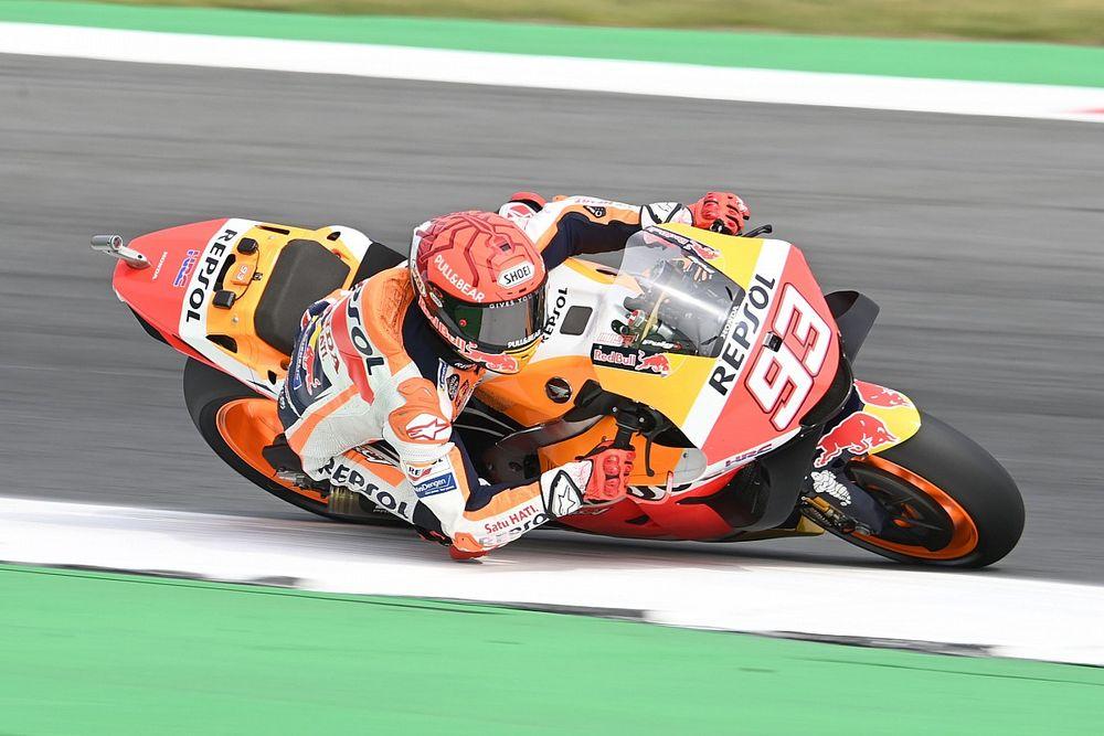 """MotoGP: Márquez se sente """"sortudo por escapar ileso"""" de grave acidente em Assen"""