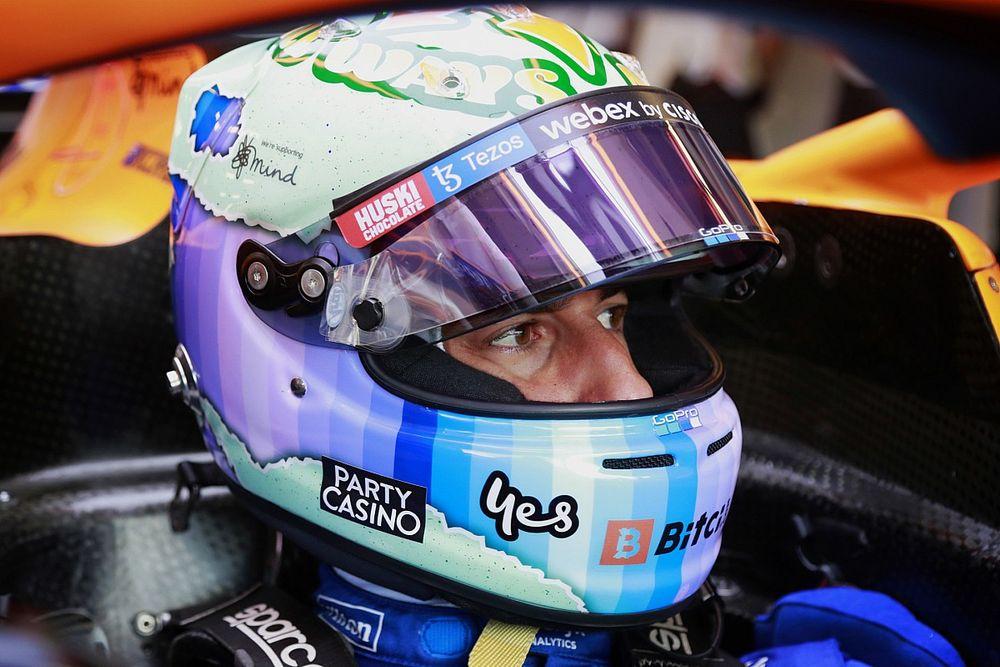 """Ricciardo veut être """"idéalement placé"""" pour jouer le titre 2024"""