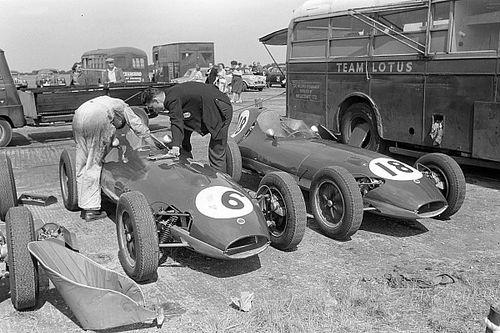 The toe-in-water origins of Lotus's groundbreaking F1 journey