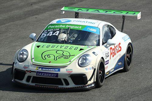 Porsche Carrera Cup: Muller lidera treino livre em Interlagos