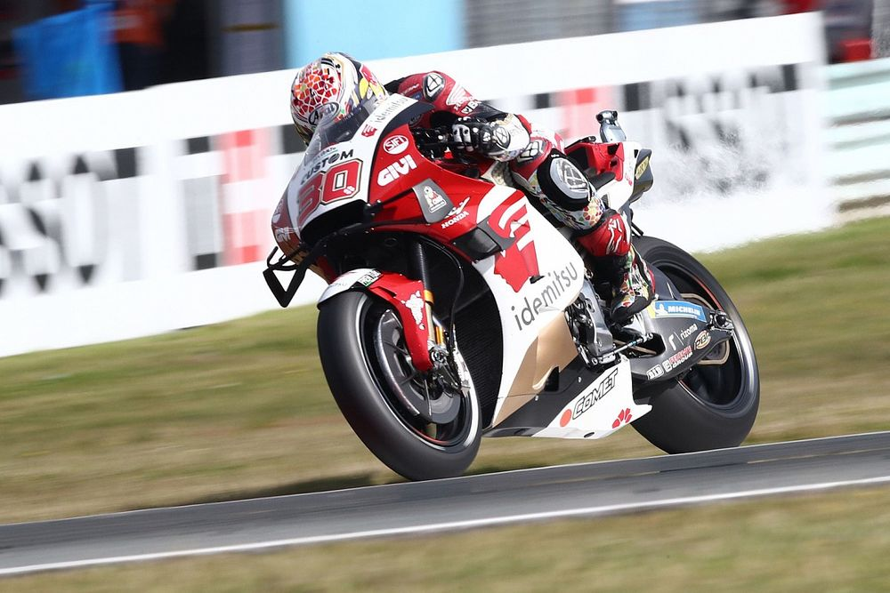 MotoGPスティリアFP1:中上貴晶、トップタイムで後半戦好スタート! 引退発表ロッシは16番手