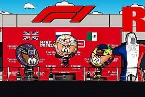 Vídeo: el intenso GP de Francia 2021 de F1 según MiniDrivers