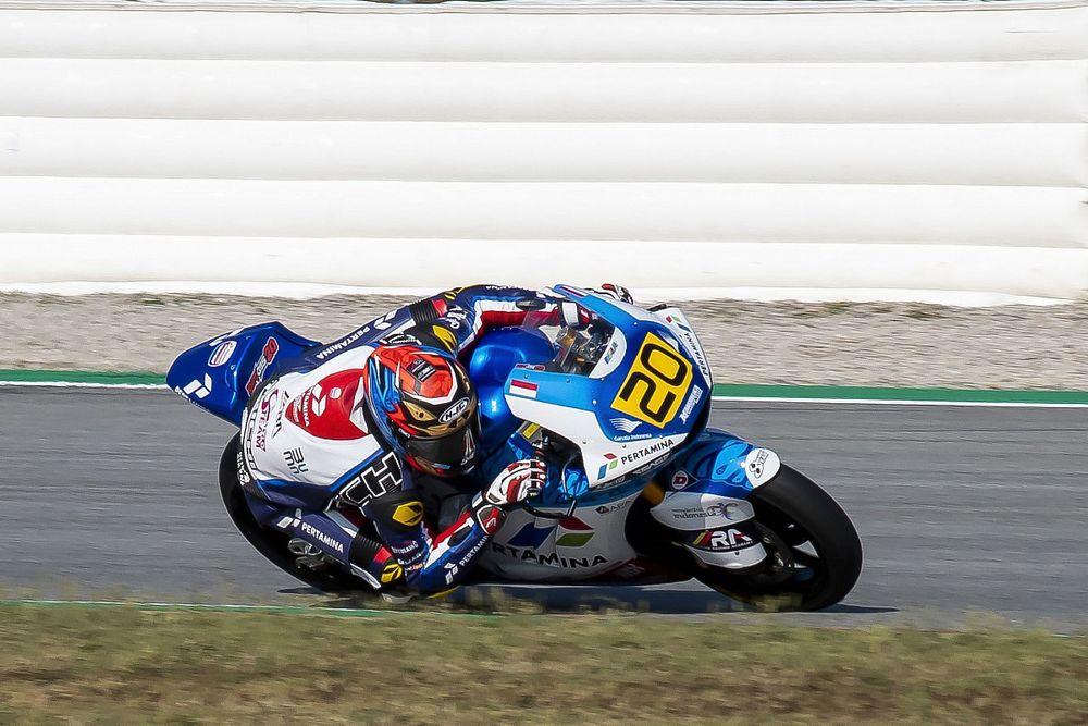 Hasil FP1 CEV Moto2 Jerez: Kesulitan, Dimas Ekky Tertahan di P13