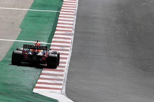 Verstappen pensó que no había controles en la curva 14