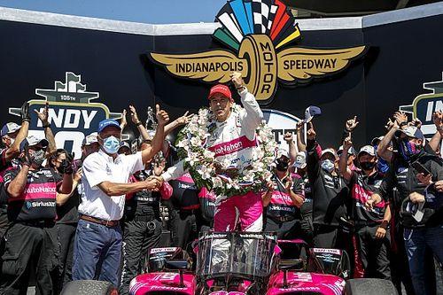 Helio Castroneves boekt vierde Indy 500-zege, VeeKay achtste