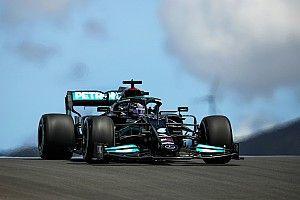 Hamilton a leggyorsabb a portugál FP2-n, egy másodpercen belül a top-12!