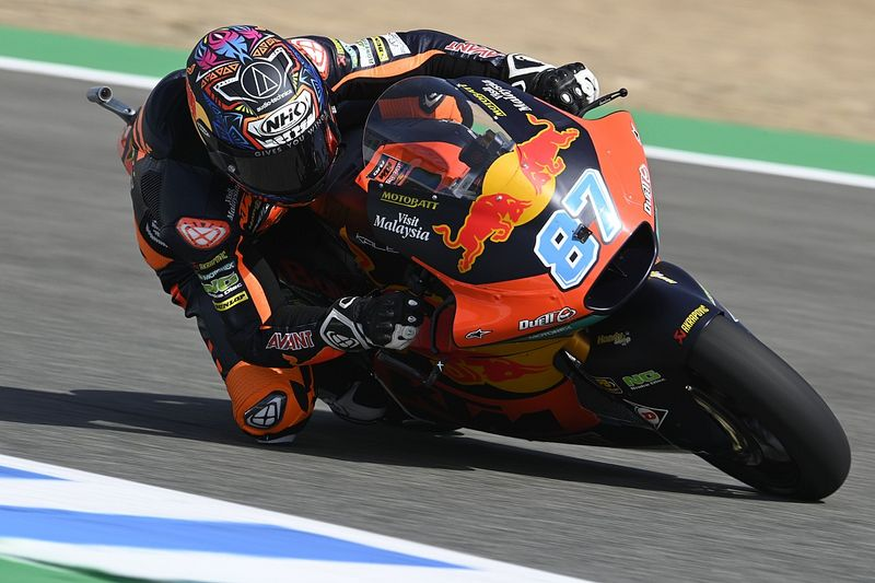 Moto2 in Jerez FT3: Gardner bricht Rundenrekord, Schrötter in den Top 10