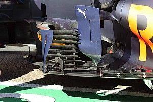 Red Bull: la RB16B cambia nell'area delle... veneziane