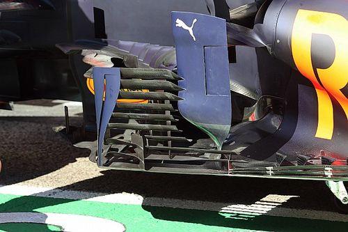 Технический брифинг: «жалюзи» Red Bull RB16B