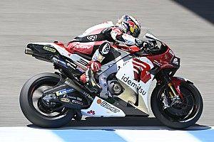 Nakagami snelste in derde training, zware crash voor Marquez