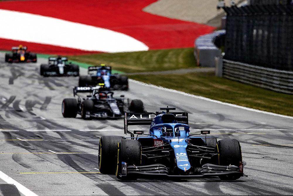 Alpine:奥地利FP1出场显示车队对周冠宇车手角色的认可