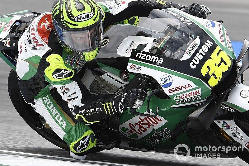 """Márquez: """"Crutchlow tampoco ha encontrado la forma de llevar esta moto"""""""
