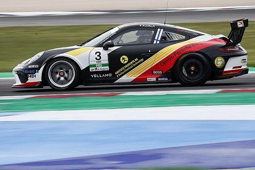Carrera Cup Italia, è di saetta-Kujala la pole del Porsche Festival
