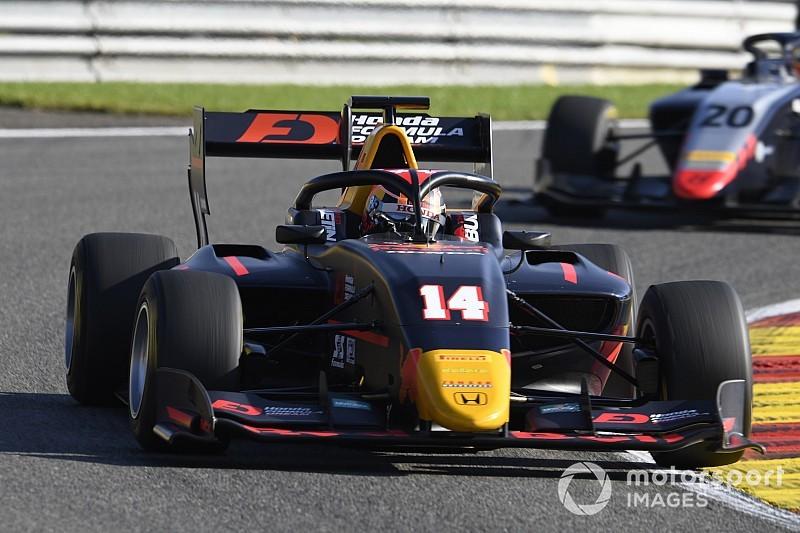 F3ベルギー予選:角田裕毅、自己最高位の3番手。ダルバラPP獲得