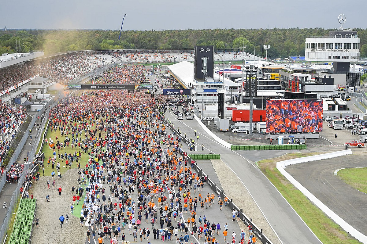 'Formule 1-organisatie in gesprek met Hockenheimring'