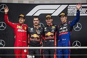 Almanya GP: Heyecan dolu yarışı Verstappen kazandı, Kvyat podyuma çıktı!