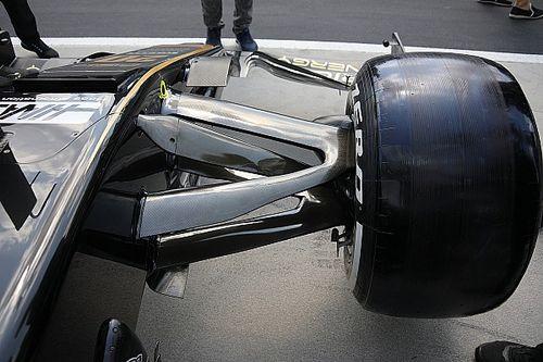 Photos - Les nouveautés techniques sur les F1 en Hongrie
