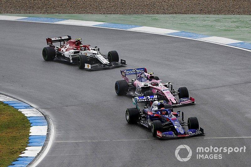 Veja linha do tempo animada do caótico GP da Alemanha de Fórmula 1