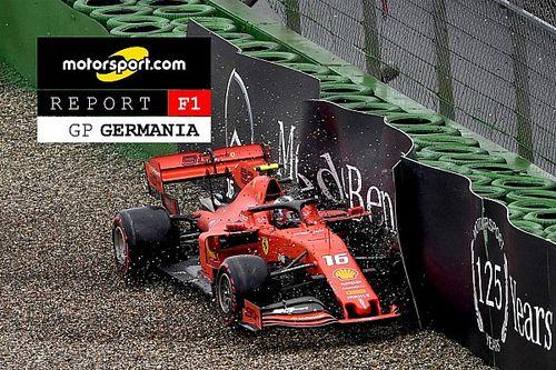 Motorsport Report F1: Mercedes a... bagno, Verstappen naviga in Germania