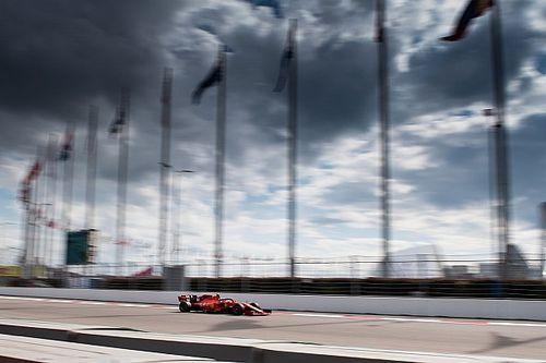 Volledige uitslag van de Grand Prix van Rusland