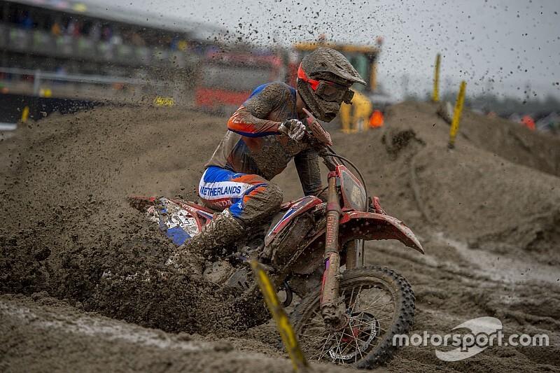 Vlaanderen debuteert in MXGP op Yamaha van Gebben