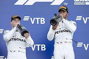 "Após triunfo na Rússia, Hamilton exalta Mercedes: ""Nunca desista"""