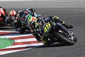 """Rossi : """"Je n'avais pas le rythme"""" pour viser le podium"""