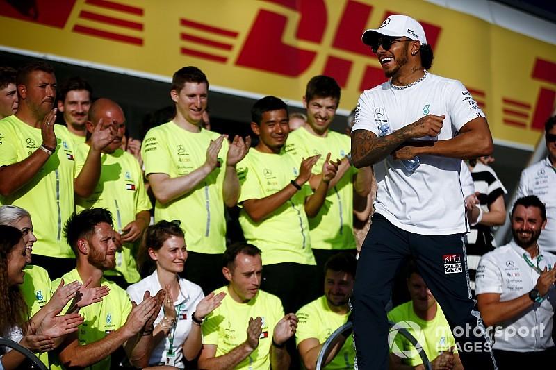 Hamilton köszöni a Mercedesnek, hogy hagyták kicsit regenerálódni