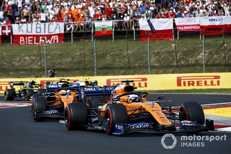 McLaren quiere recortar a la mitad la brecha con la punta en 2020