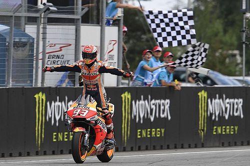 El semáforo del Gran Premio de la República Checa de MotoGP