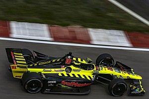 Portland IndyCar: Bourdais tops times, then shunts