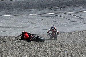 Pijnlijke schouder dwong Bautista tot opgave in Laguna Seca