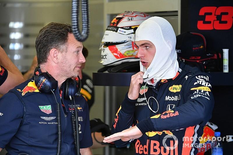 Horner: Bárkinek nehéz dolga lenne Verstappen csapattársaként